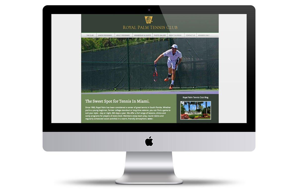 vortex-miami-web-design-tennis-club