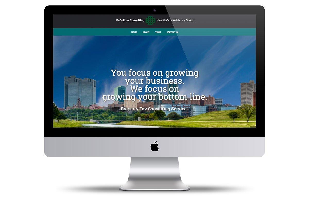 Miami web design mccollum property tax consultants vortex for Web design consultant